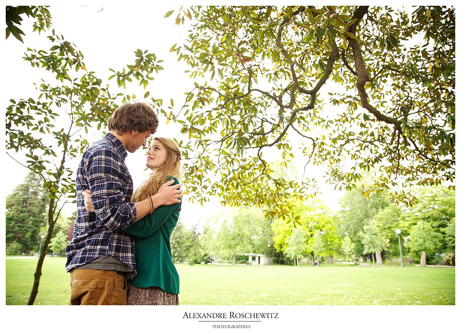 Photos de couple Soizic et Gido à Bordeaux - Alexandre Roschewitz Photographie