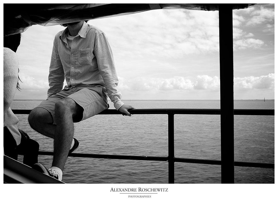Les photos de la croisière en bateau sur le bassin d'Arcachon du jour précédant le mariage de Laura et Jan. Départ du Cap Ferret, arrêt sur la Dune du Pyla, ...