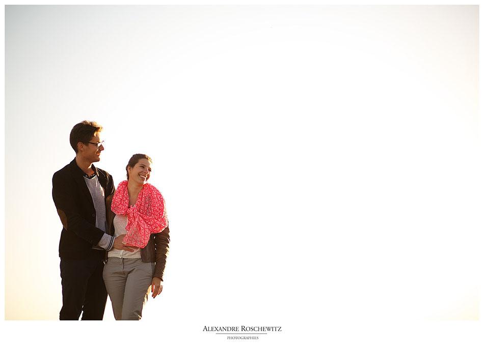 La séance engagement de Natacha et Olivier à Royan - Alexandre Roschewitz Photographies