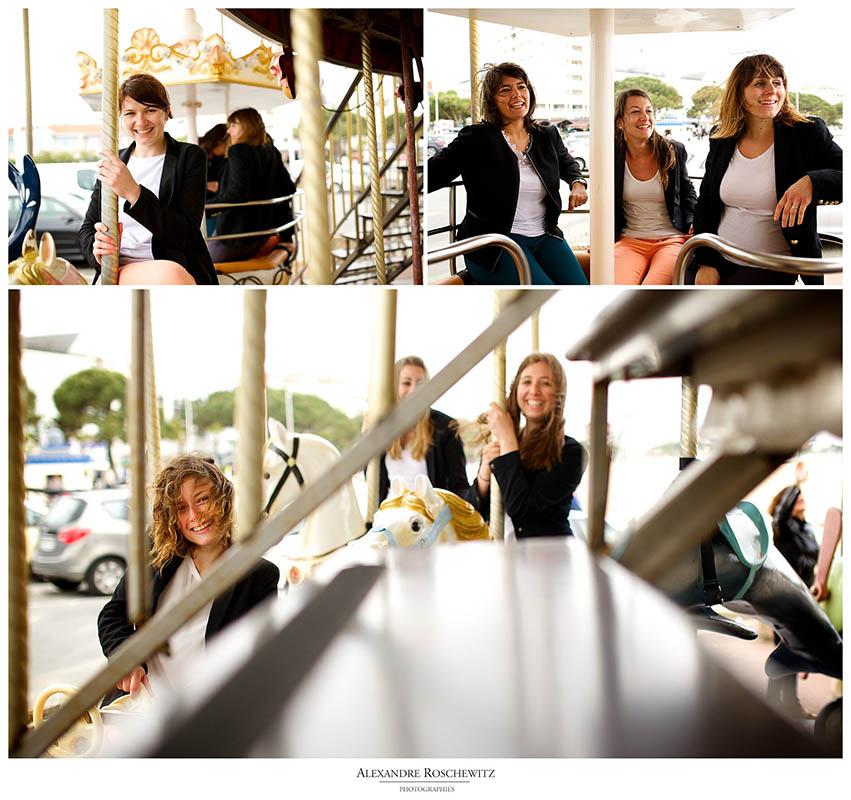 Les photos de la séance EVJF de Mélina à Arcachon.