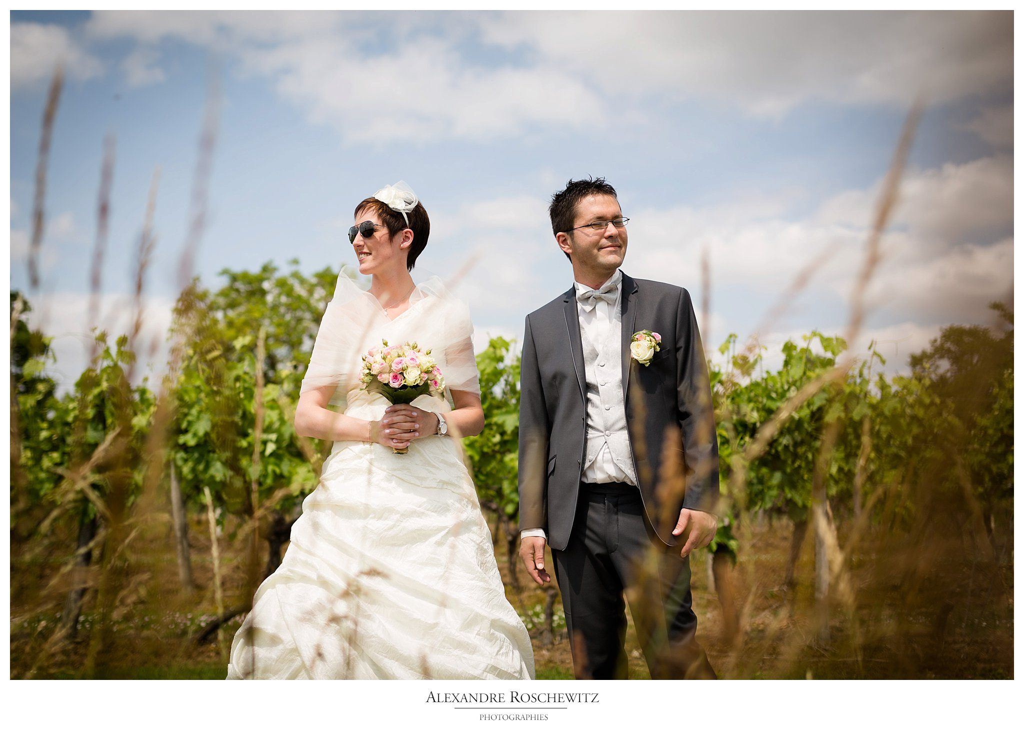 Un aperçu des photos du mariage de Julie et Pierre-Yves à Bréville, puis au Quai des Pontis à cognac. Alexandre Roschewitz Photographies