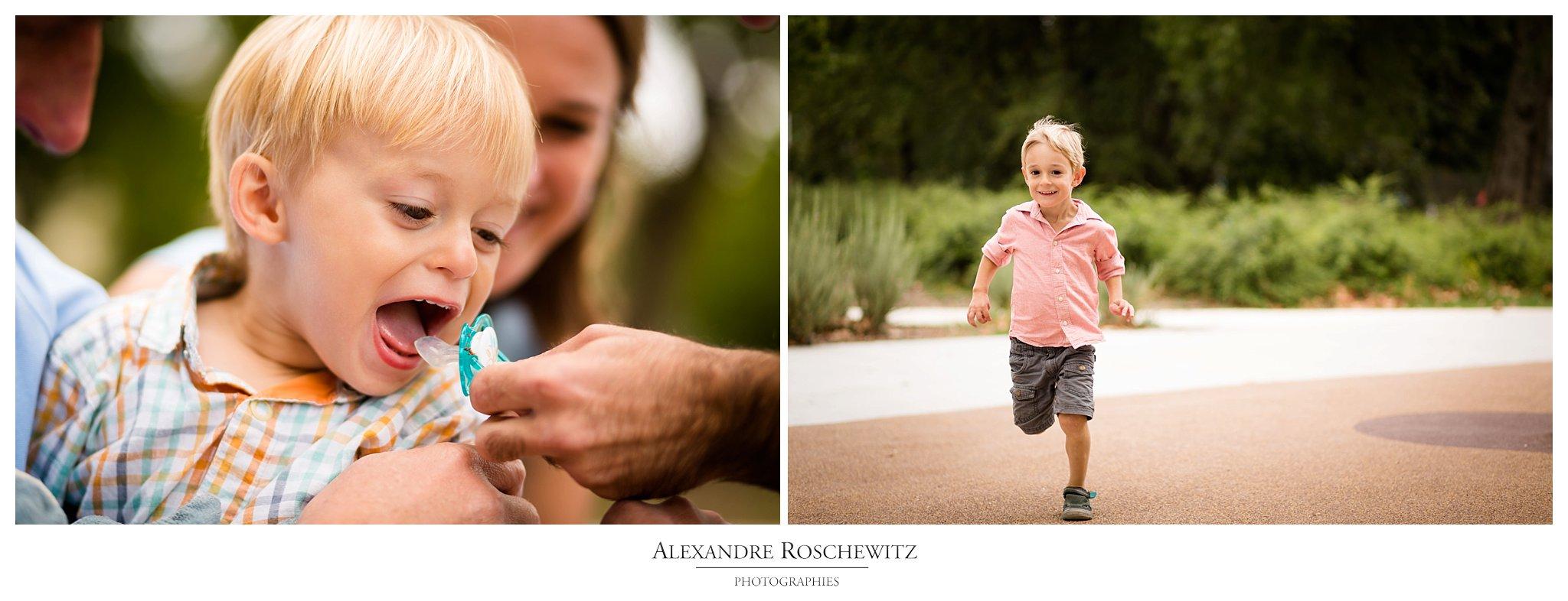 La séance engagement et famille de Nathalie et Nicolas au Parc Bordelais. Alexandre Roschewitz Photographies.