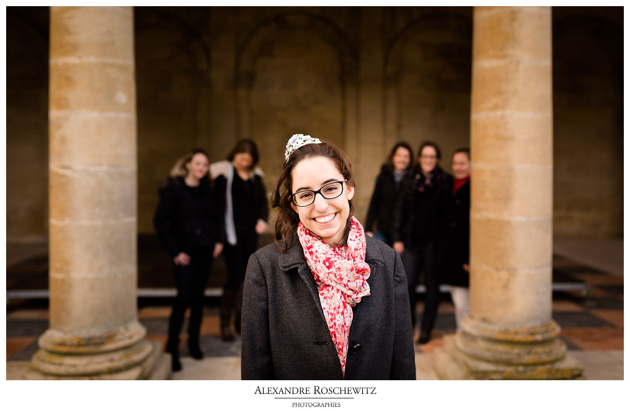 La séance photo EVFJ de Christelle à Bordeaux, avec 5 de ses amies. Alexandre Roschewitz Photographies.