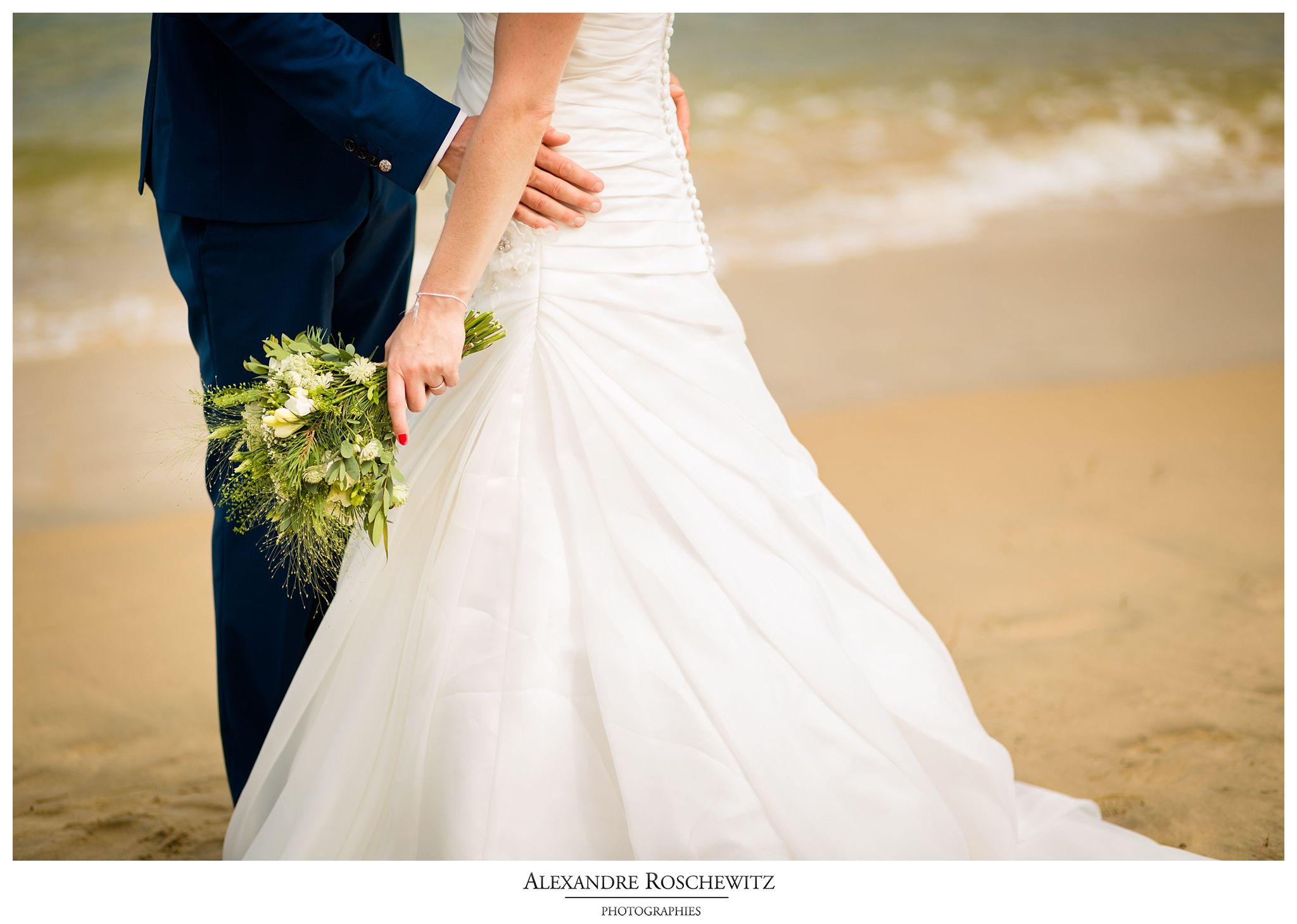 Les photos du mariage de Christine et Frédéric au Cap Ferret puis au Domaine de Cordet à Arsac. Alexandre Roschewitz Photographies