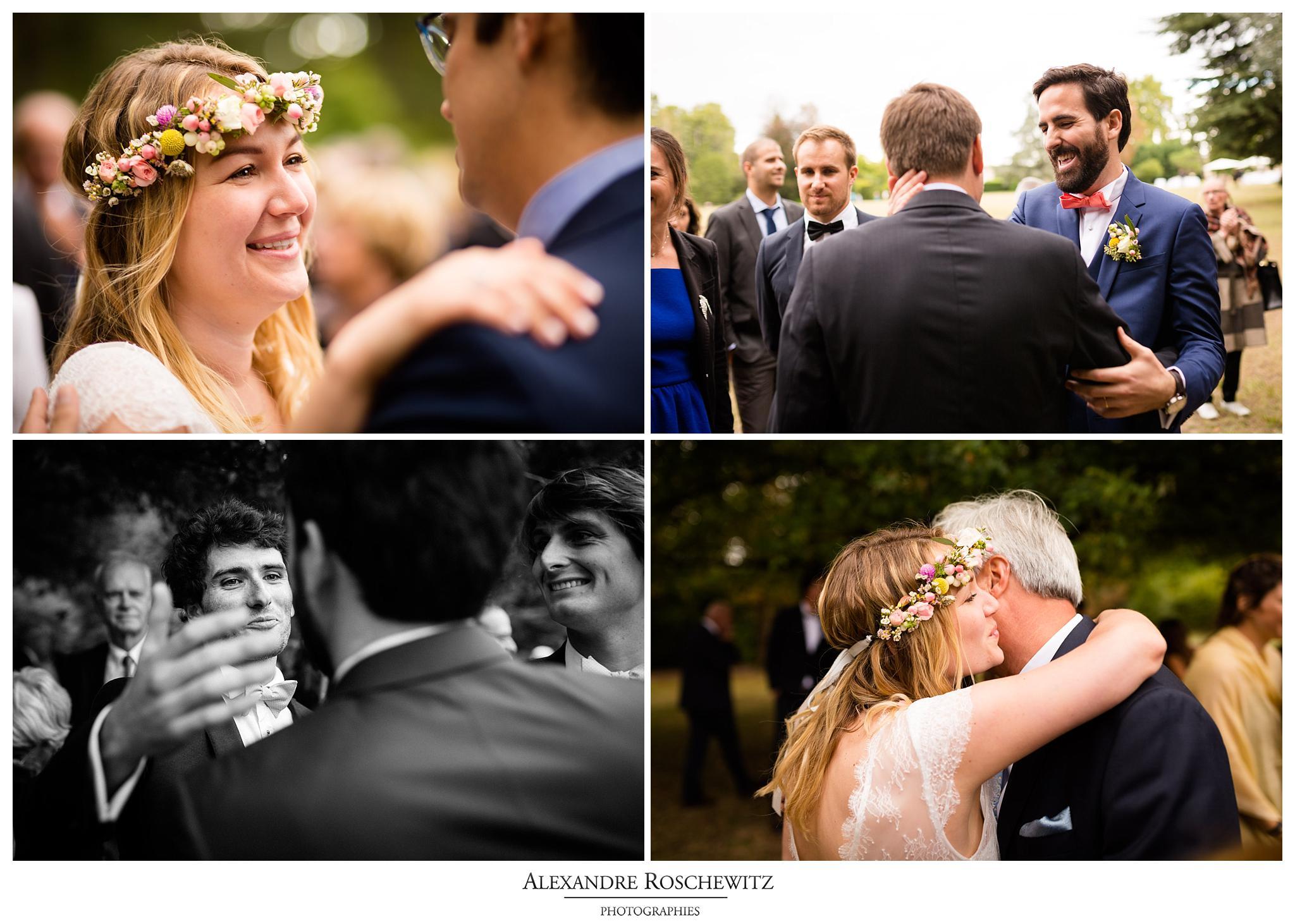 Les photos du mariage laique de Jennifer et Thomas au Domaine de Larchey et au Château Larrivet Haut Brion. Alexandre Roschewitz Photographies