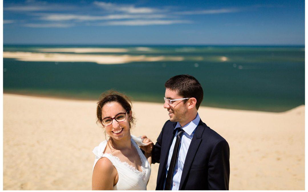 Seance photo Day-After – Port de Biganos et Dune du Pilat – Christelle + Guillaume