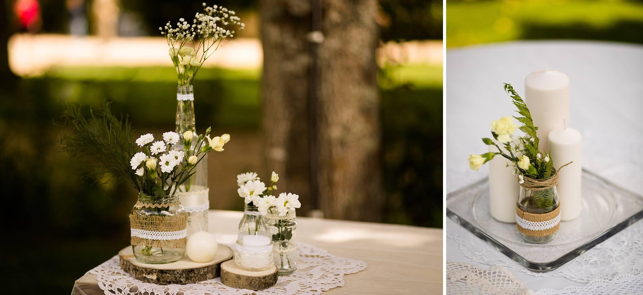 Les photos du mariage civil à Pomerol et laïque au Château Latour Ségur Suite & Spa de C+F.
