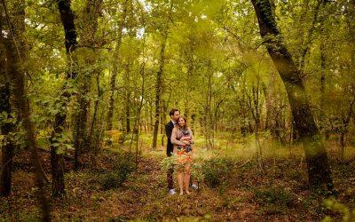 Séance engagement à Andernos – Valérie + Adrien