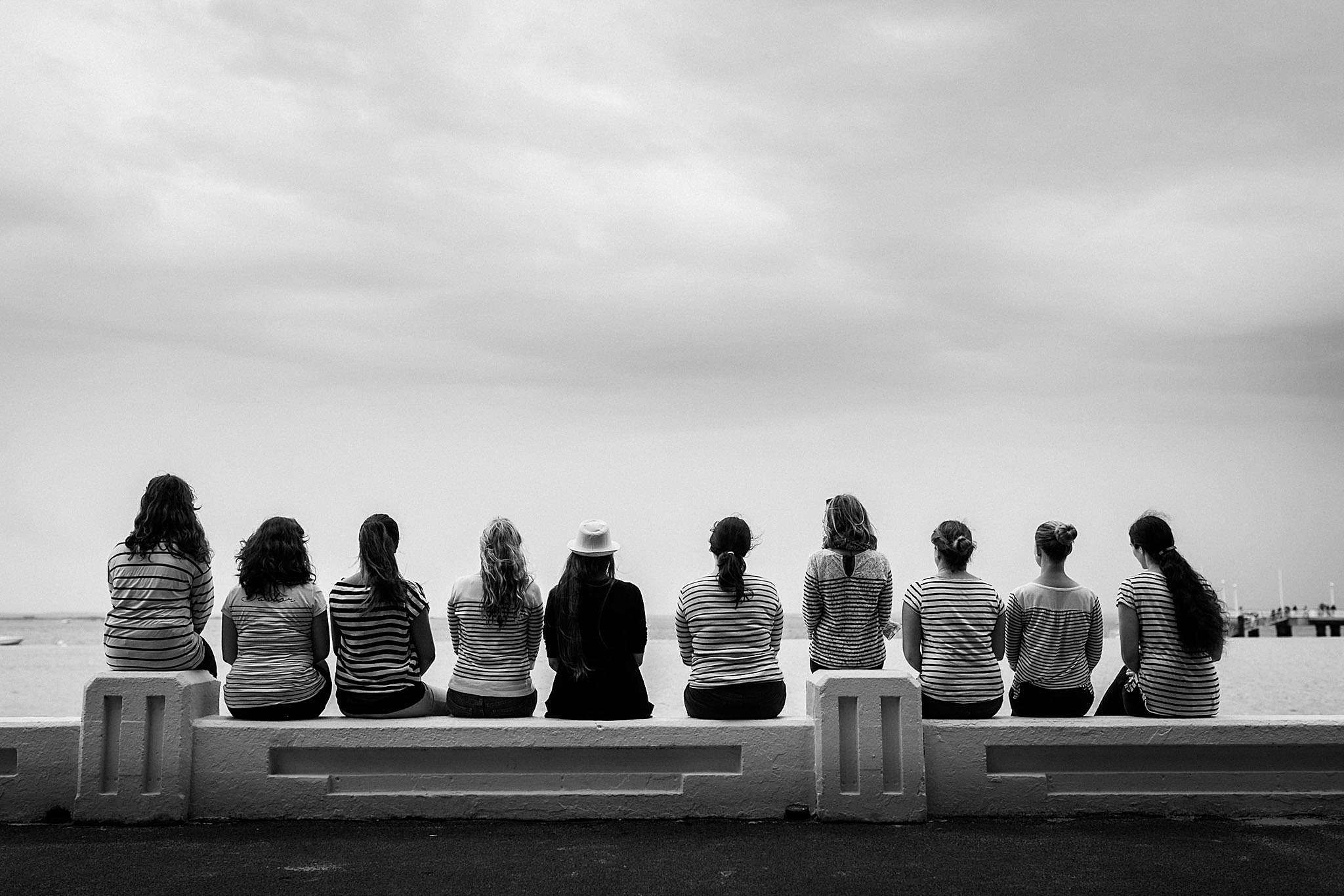 Avant son mariage, une séance photo EVJF à Arcachon entre copines