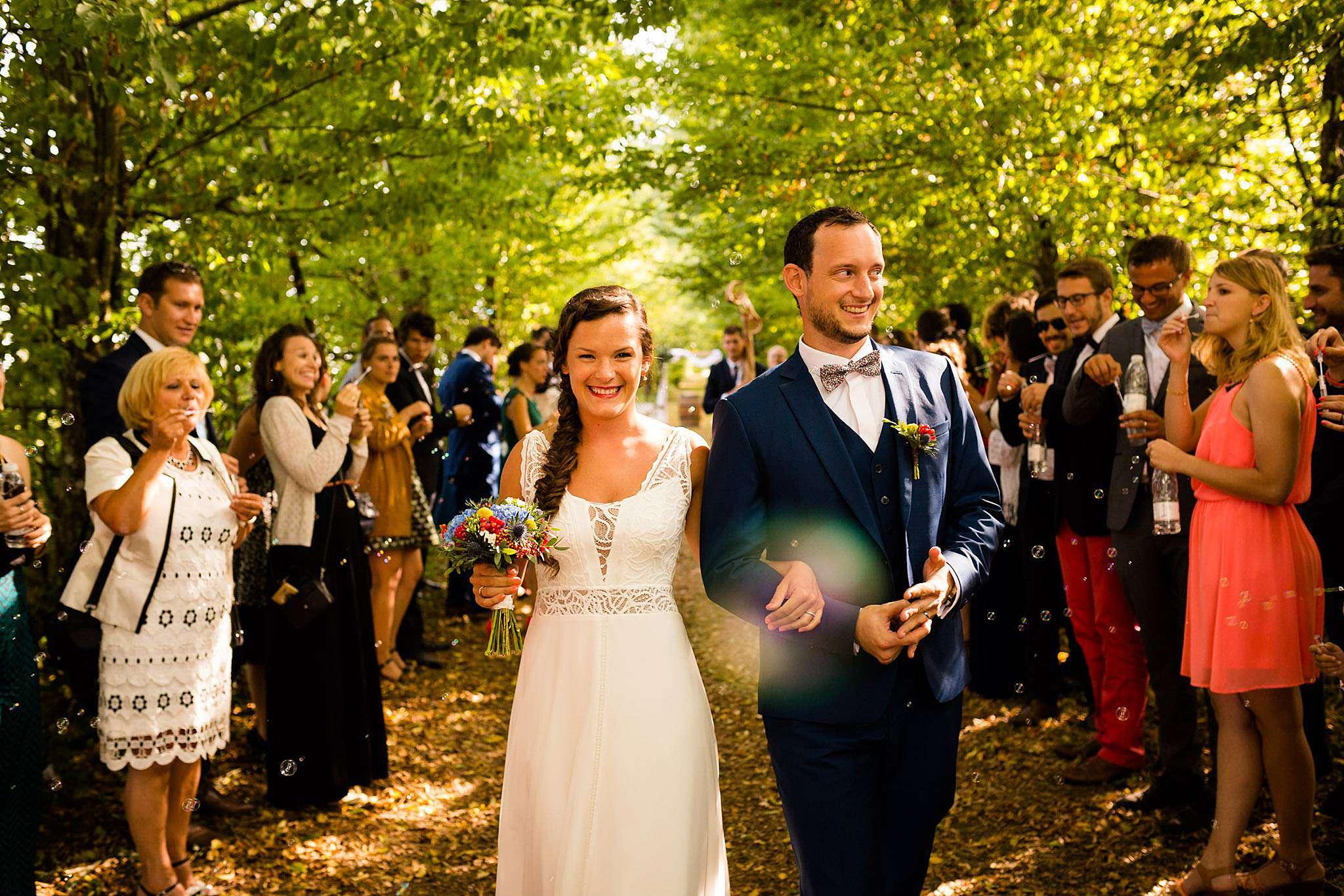 Cérémonie laïque mariage au Château Mouchac