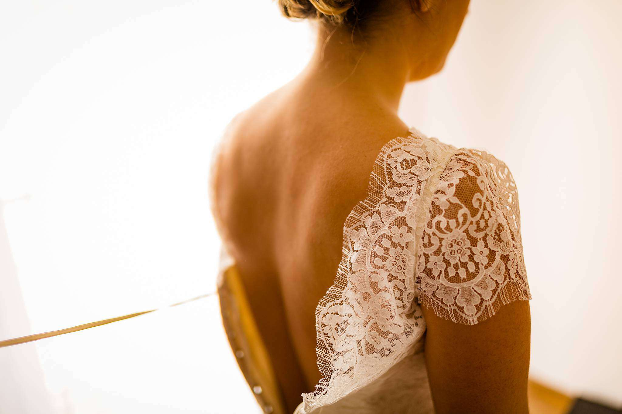 Robe de mariage Confidentiel Création à Eysines Gironde