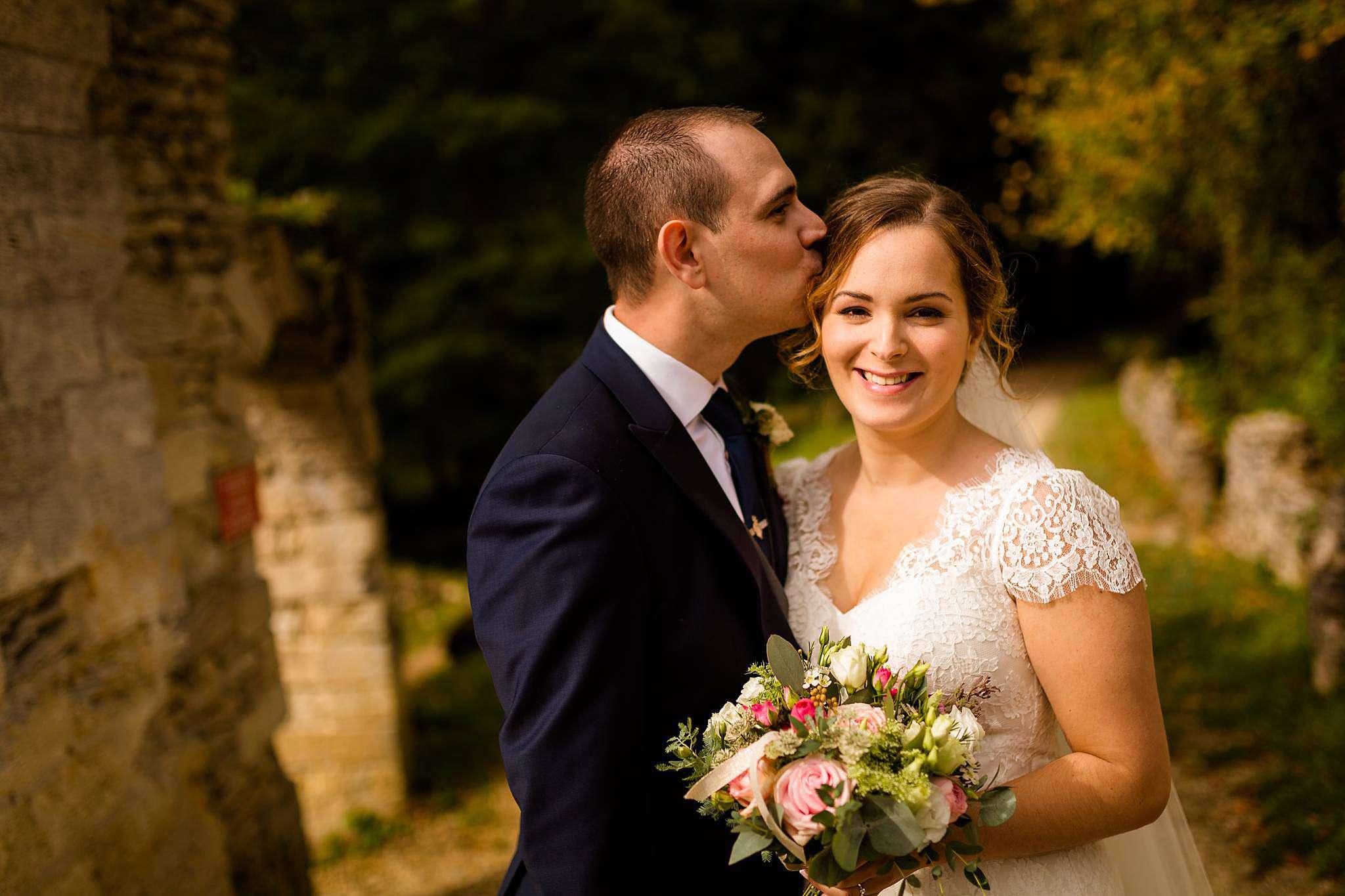 Photos de couple au Château Ruch.