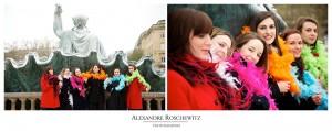 EVJF - Enterrement de vie de jeune fille de Nadège à Bordeaux - Le 06/04/13