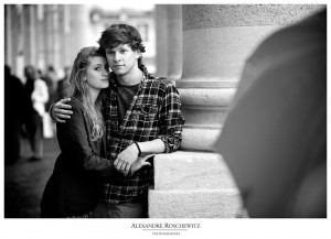 Photos de couple Soizic et Gido à Bordeaux - Alexandre Roschewitz Photographie