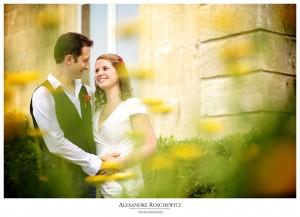 Un teaser du mariage surprise de Caroline et Vincent à Pessac, dans sa mairie annexe et son parc. Alexandre Roschewitz Photographies