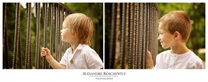 Photo de famille au Parc Majolan de Blanquefort - Maxence, Valentin et ses parents - Alexandre Roschewitz Photographies