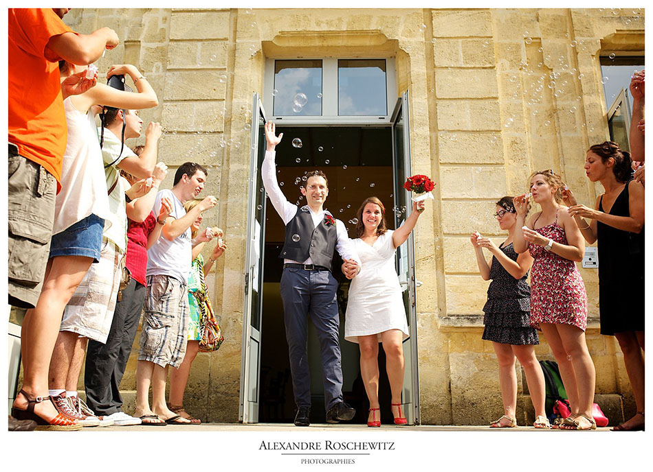 Photographe de mariage à Pessac – Caroline + Vincent