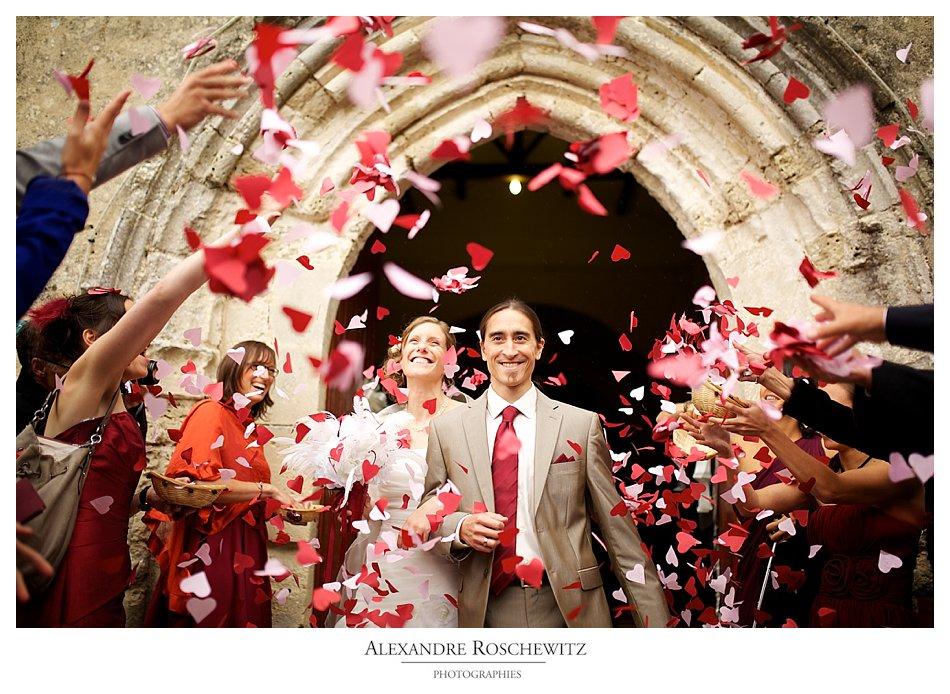 Photographe de mariage à Saint-Denis du Pin – Château La Roche Courbon – Claire et Chuck