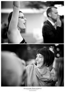 Les photos du mariage franco-irlandais de Orla et Laurent, au Porge. Une journée placée sous le signe de l'amitié, de la famille et de la fête ! Ambiance de folie, batucada à la sortie de l'église, et Guinness à volonté !