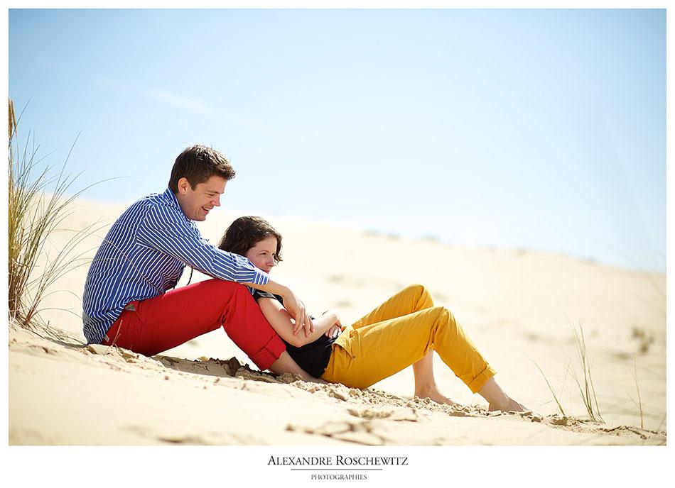 Photographe de mariage au Cap Ferret – Laura + Jan – Croisière en bateau sur le Bassin d'Arcachon