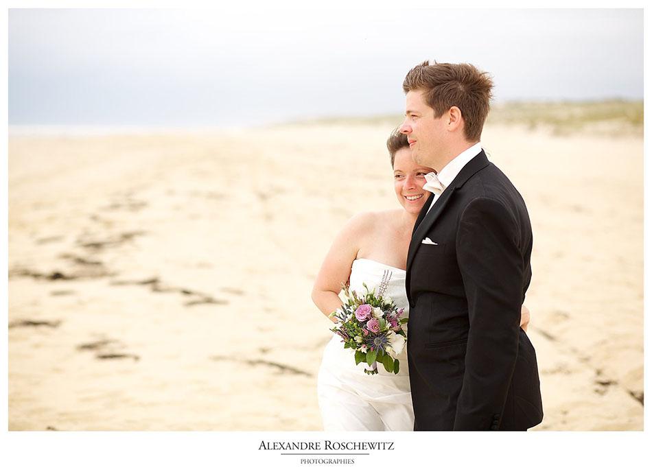 Photographe de mariage au Cap Ferret – La Maison du Bassin – Laura + Jan
