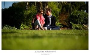 Un bref aperçu de la séance engagement de Natacha et Olivier à Royan - Alexandre Roschewitz photographies