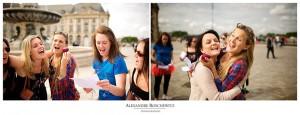Les photos de la séance EVJF de Marine à Bordeaux centre, du Jardin public au Miroir d'eau. Alexandre Roschewitz Photographies.