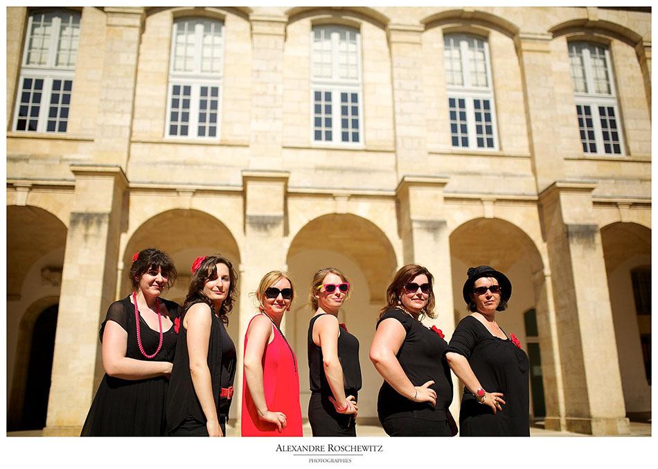 Séance photo EVJF Bordeaux en rose – Alexandre Roschewitz Photographies – Frédérique