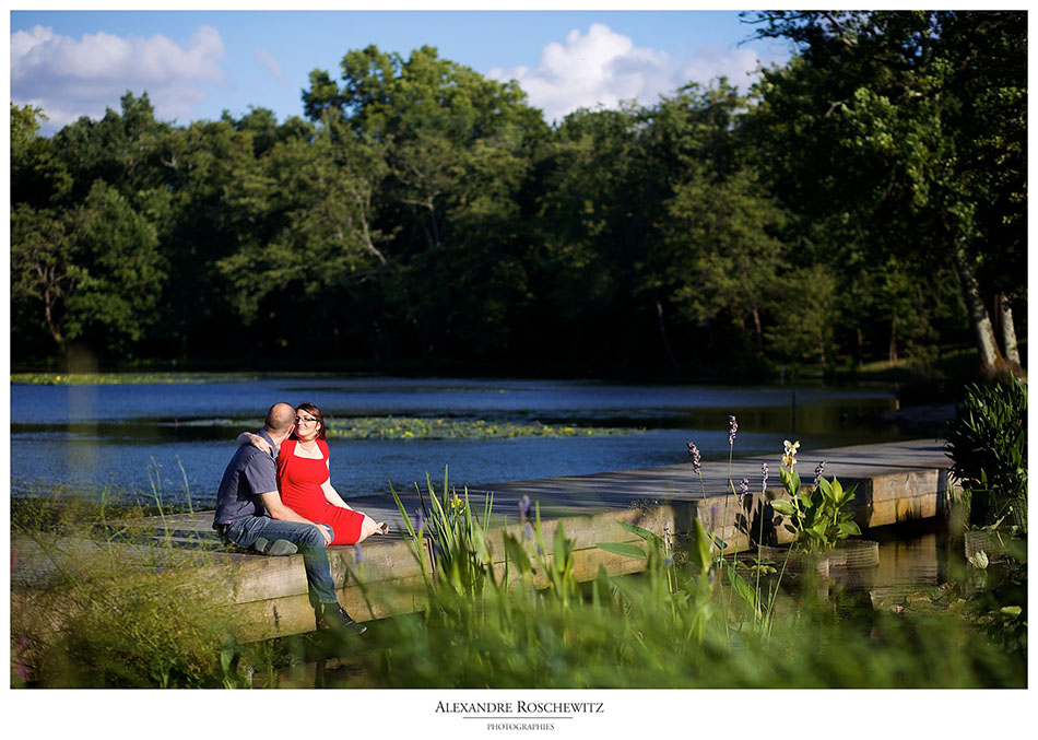 Séance photo Maternité – Sandy + Gabriel – Parc Majolan de Blanquefort