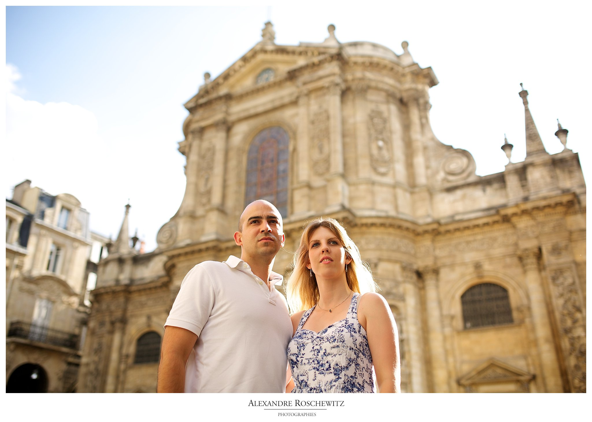 Séance engagement à Bordeaux – Angélique + Aurélien