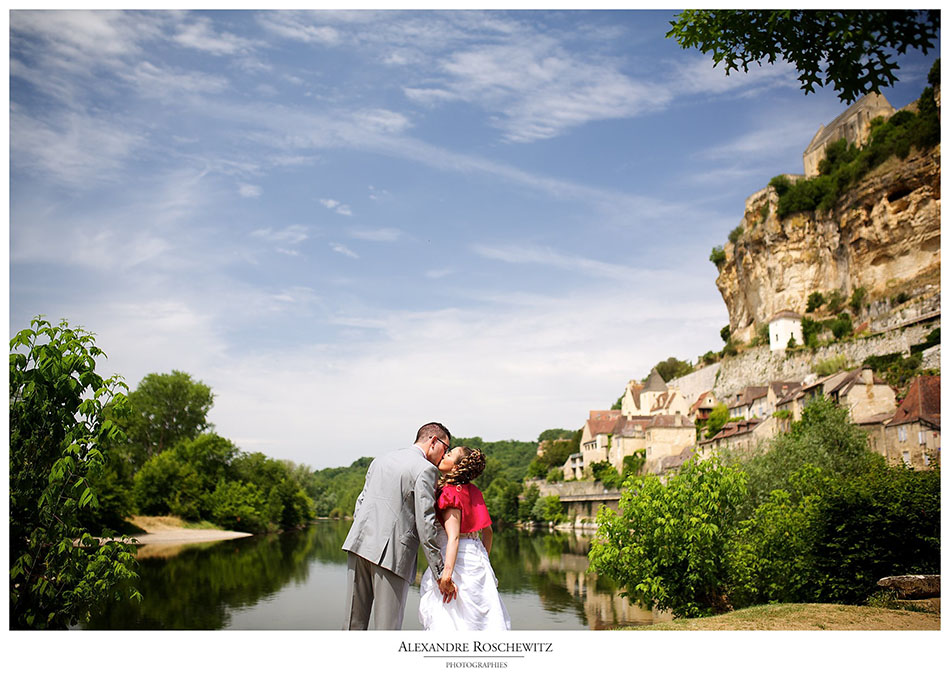 Photographe mariage à Beynac-et-Cazenac – Amélie + Ganem