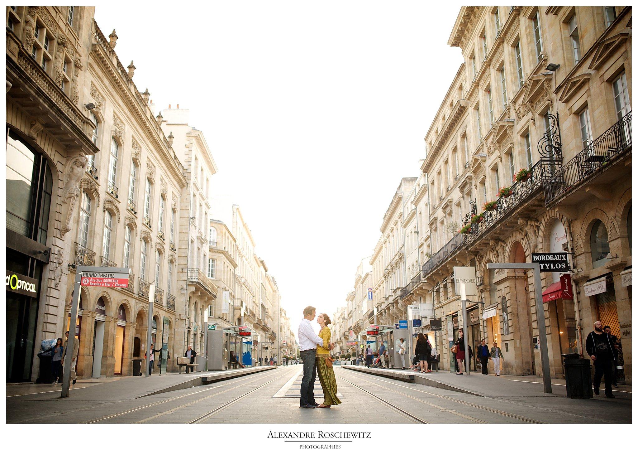 Séance engagement à Bordeaux – Paméla + Patrice