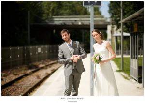 Le teaser d'un mariage à La Rochelle, avec Caroline et Charles en chefs de gare ! Alexandre Roschewitz Photographies.