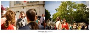 Photos de mariage à La Rochelle, avec Caroline et Charles en chefs de gare ! Cocktail et soirée à l'Abbaye de la Grâce Dieu. Alexandre Roschewitz Photographies.