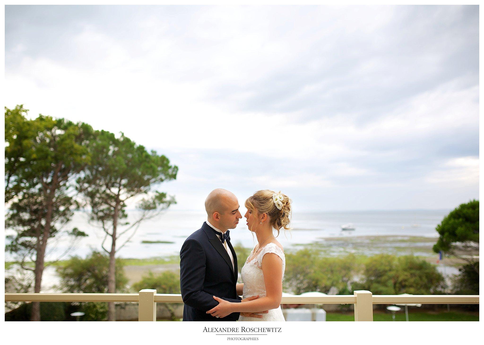 Photographe mariage à Arcachon – Villa La Tosca – Angélique + Aurélien