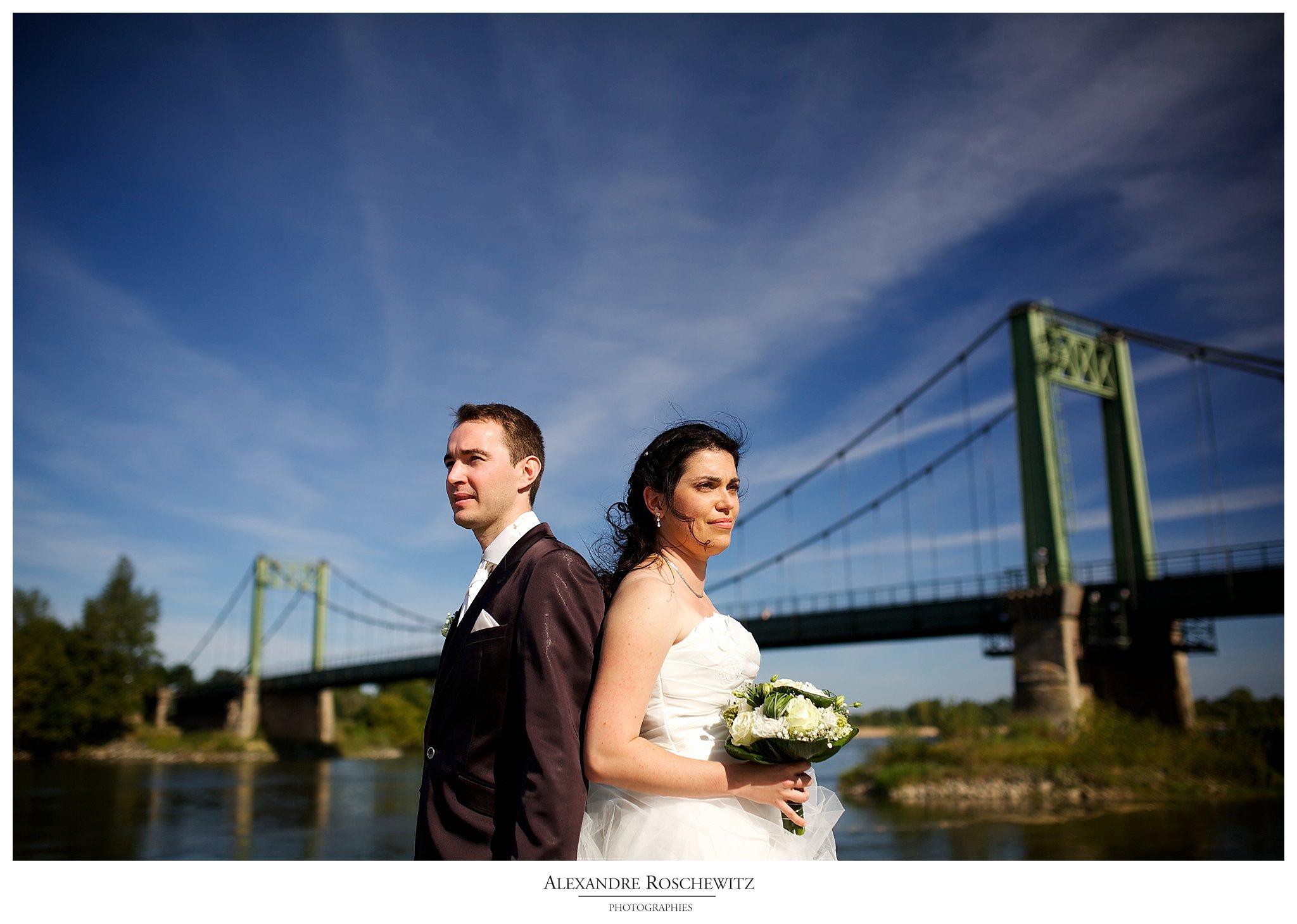 Photographe mariage à Gennes – Pauline et Nicolas