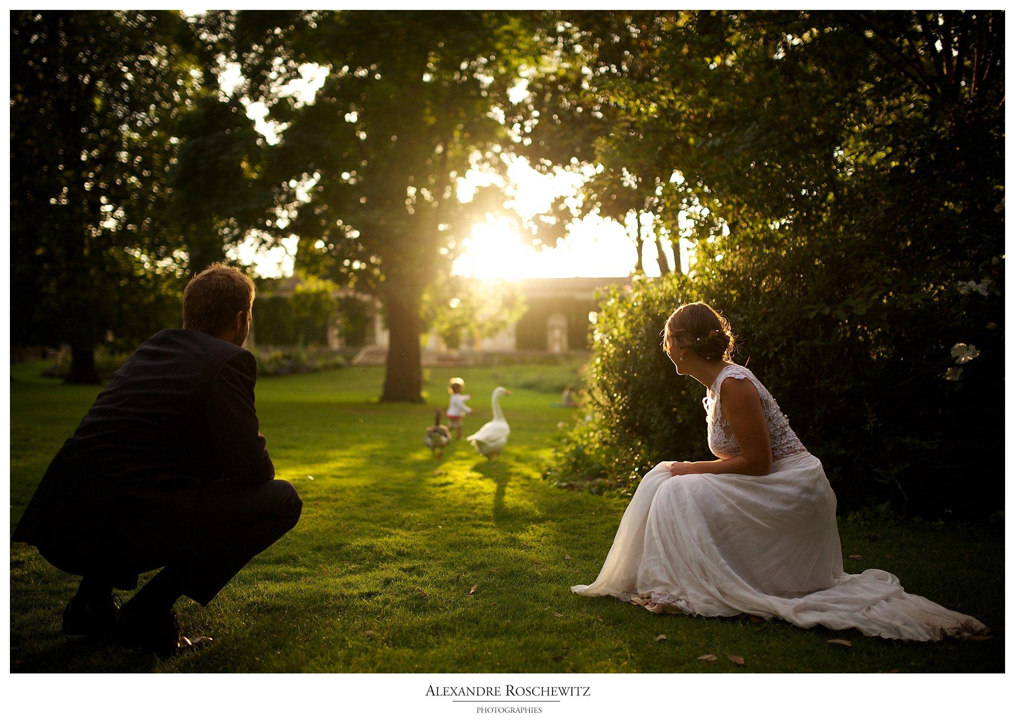 Photographe mariage à Bordeaux – Olivia et Cyril – Day After au jardin public