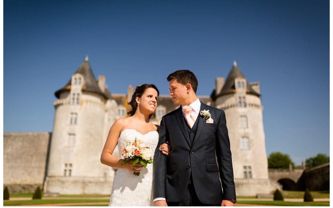 Photographe mariage Château La Roche Courbon – Jennifer + Amory – Teaser