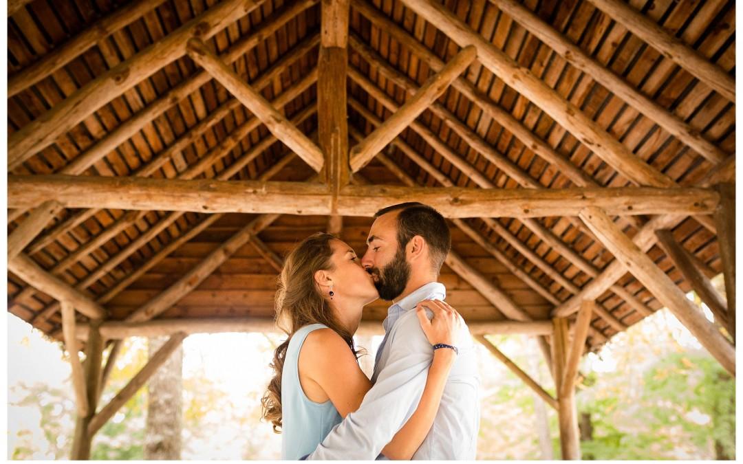 Séance engagement et famille – Parc Bordelais – Nathalie + Nicolas