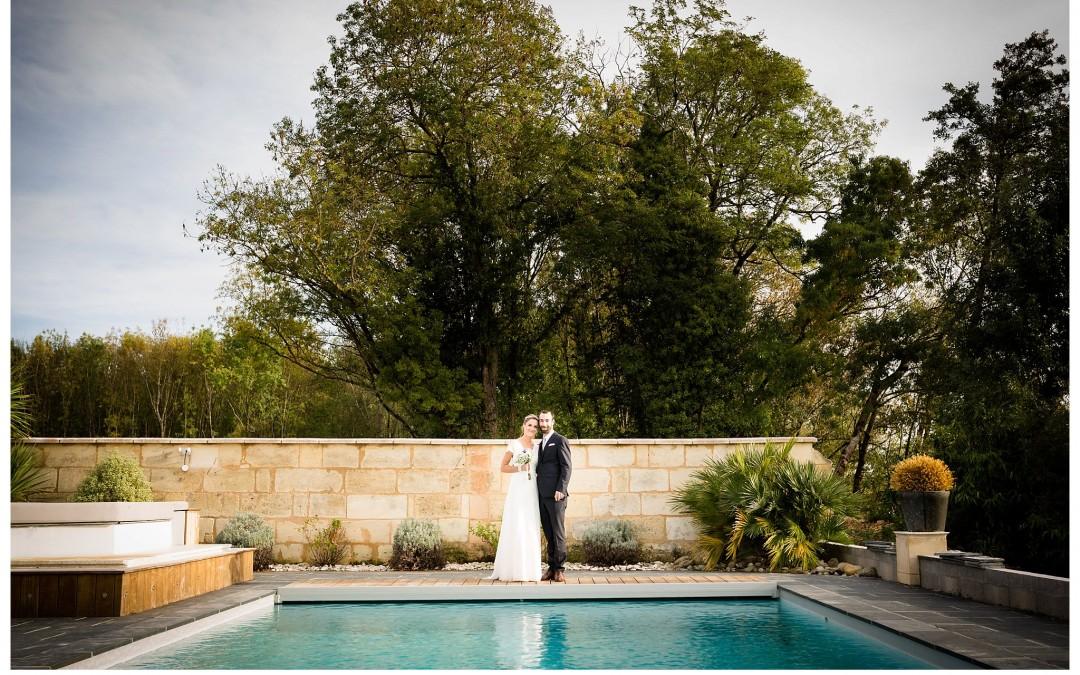 Photographe mariage au Domaine de Conseillant – Nathalie + Nicolas