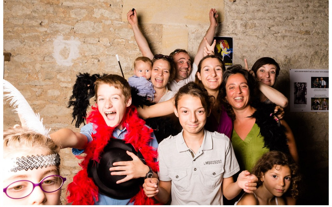 Photobooth mariage Quai des Pontis – Julie + Pierre-Yves