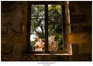 Aperçu des photos du mariage religieux et militaire de Clémence et Luc au Château de la Grave et de la Citadelle de Bourg sur Gironde. Alexandre Roschewitz Photographies