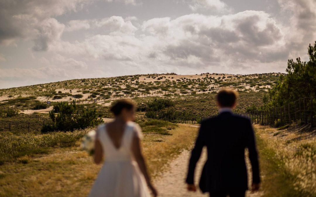 Photographe mariage Cap Ferret – C+B – Pinasse Café