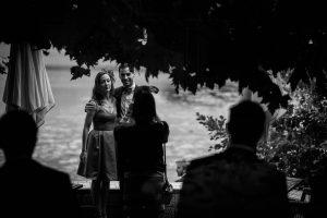 Les photos de mariage de Florine et Martial au Château de Brindos, à Biarritz, Pays Basque. Destination Wedding Photographer.