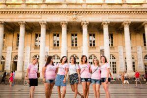 Photographe séance photo evjf fun à Bordeaux.
