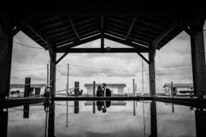 Séance photo engagement à Andernos. Photographe mariage bassin d'Arcachon.