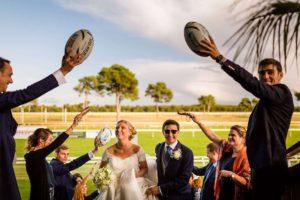 Mariage à L'hippodrome de La Teste de Buch