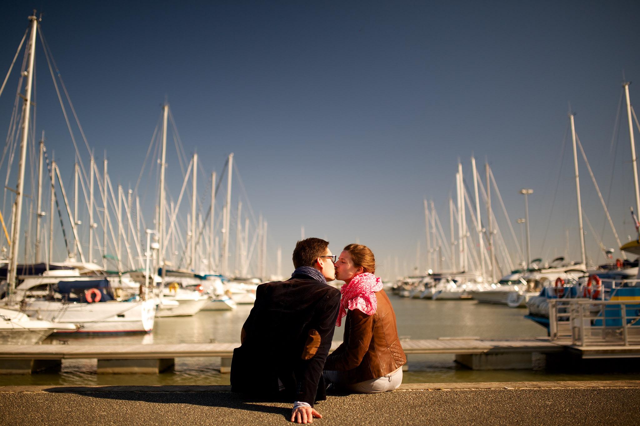 Photographe couple et engagement à Royan Charente Maritime
