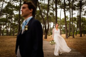 Photographe mariage au Tir au Vol d'Arcachon
