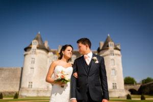 Mariage au Chateau La Roche Courbon Charente maritime